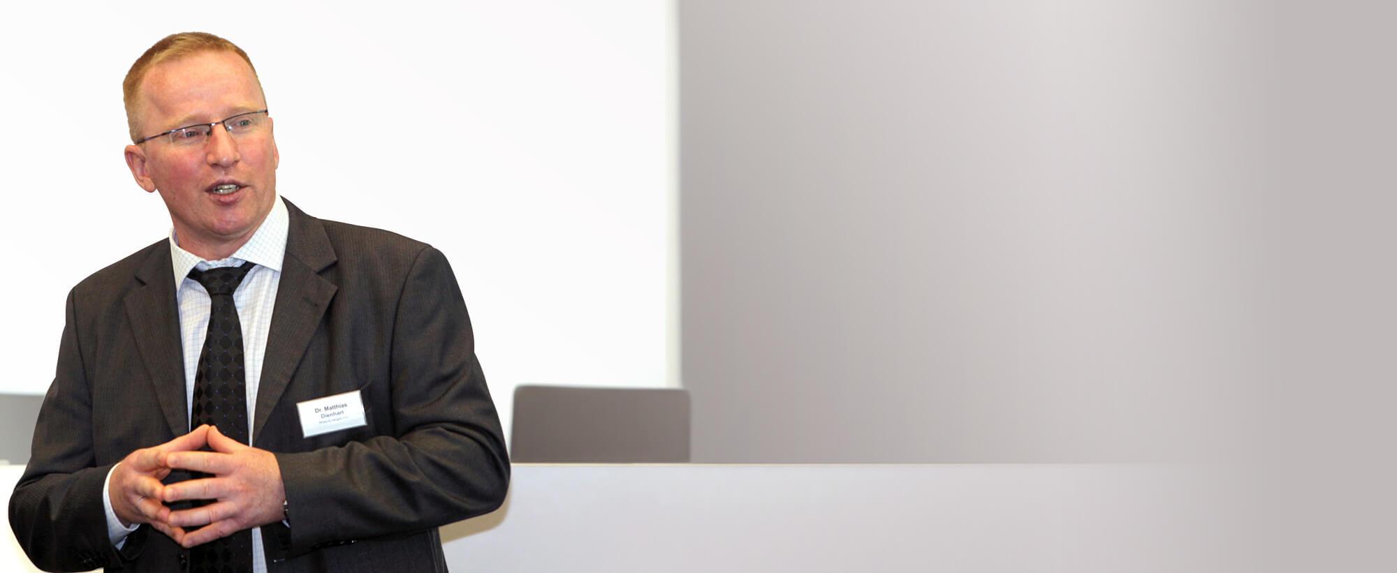 Dr. Matthias Dienhart, Geschäftsführer der KlimaKreis Köln GmbH und Leiter Energiewirtschaftliche Grundsatzfragen bei der RheinEnergie AG