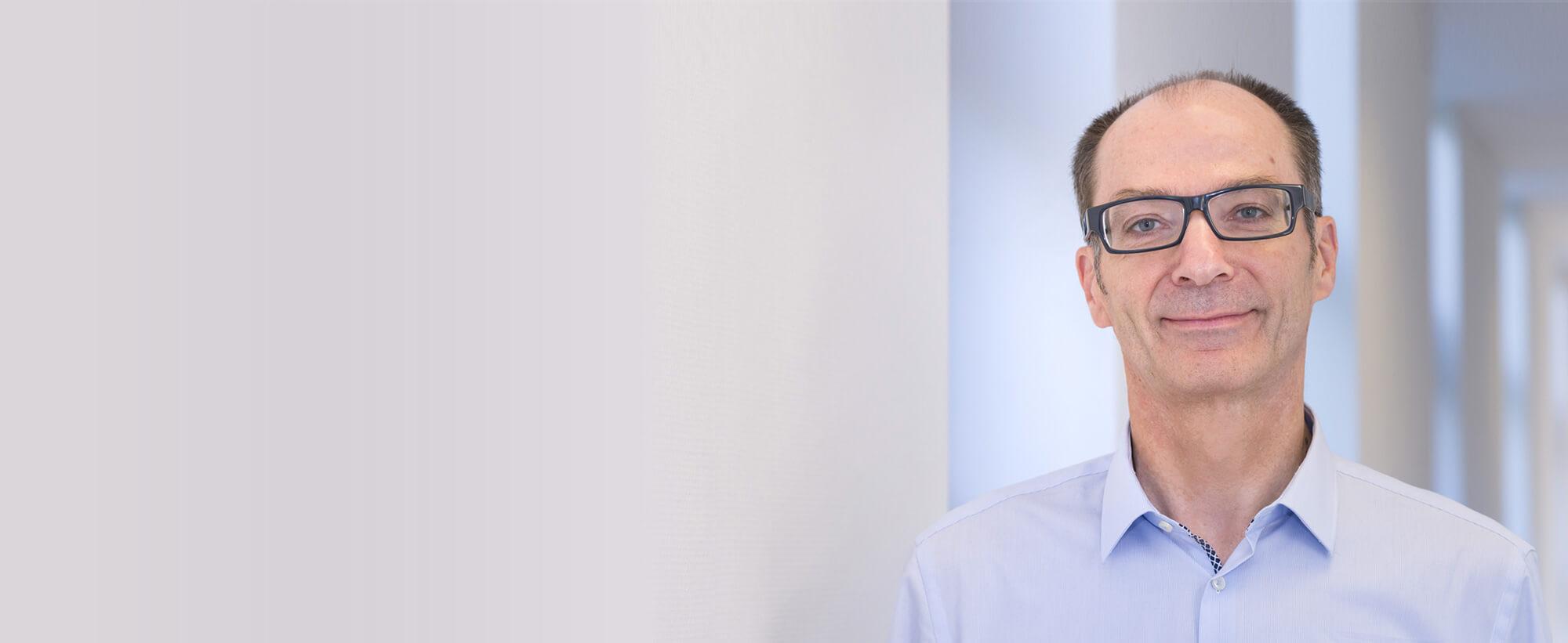 Martin Kosub, technischer Leiter der Stadtwerke Wesseling GmbH